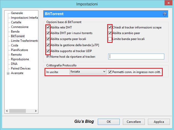 Configurare e velocizzare utorrent 3 x x giu 39 s blog - Porta utorrent ...